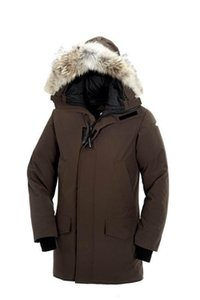 Canada famous Winter Fourrure Down coat longford Parka coyote Homme Jassen Chaquetas Big Fur trim Hooded Manteau Down Jacket Hiver Doudoune