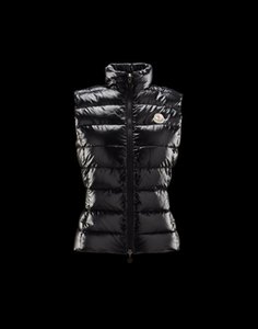 Wholesale High quality fashion designer Women's Down Vest Jacket Ghany Vest Coats women Outdoor Thick warm White duck down shoulder vest Down jacket