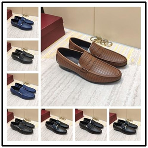 iduzi New Italian Top Qulity Famous Brands Platform Shoes Light Shoes Adults Slip-on Oxford Black Brown Men s Size 38-45 With Box