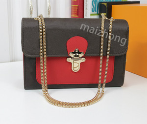 Wholesale Victorie envelope style L flower women designer bags high quality pu leather chain strap measenger purses women bag
