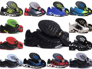 Wholesale 2019 TN PLUS Mens Original Fashion Sneakers TN AIR ShOes Sales TOP Quality Cheap France BASKET TN ReQUIN ChauSSures Size 40-46 on Sale