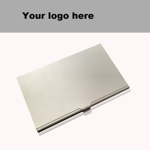 Wholesale Alloy Card Holder Slim Package Business Case Box ID Card Business ID Credit Card Holders