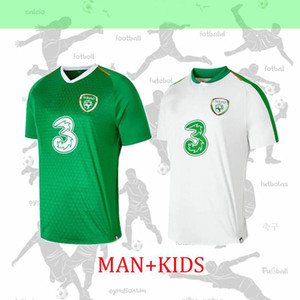 Wholesale NEW Ireland soccer jersey home away Republic of Ireland National Team Thailand Quality uniforms MULLER CLARK kids kit Football shirt