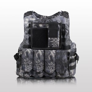 Wholesale USMC Unloading Vest Tactical Molle Protection Plates Soldier Combat Vests Army Camouflage Air Soft Carrier