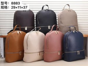 Wholesale Women designer backpacks school bag travel bags good quality pu leather bookbag shoulder bag purses hot sale