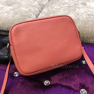 Wholesale Micaela Watermelon Disco Shoulder Bags Top Quality Soho Camera Bag Women Designer Handbag Tassel Zipper Real Leather Satchel Bags