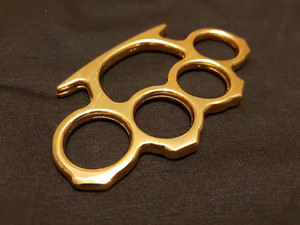 10PCS Silver Black Gold Three Colors Thin Steel Brass knuckle dusters Self Defense Personal Security Women's and Men's self-defense Pendant