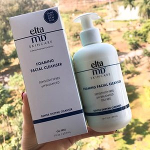 Dropshipping Elta MD Foaming Facial Cleanser Skincare Senstivity-Free PH-Balanced Oil-free Face clean Cream 207ml in stock on Sale