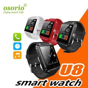 Wholesale U8 Bluetooth Smart Watch Passometer Altimeter Music Player Girls Wrist Watch Remote Control Photography Sports Watch