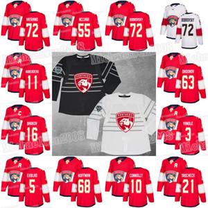 56 Erik Haula Jonathan Huberdeau Florida Panthers Sergei Bobrovsky Aleksander Barkov Evgenii Dadonov Keith Yandle Hoffman Vatrano Jerseys