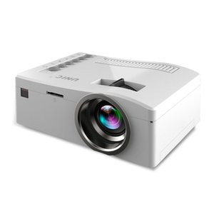 Wholesale UC18 LED Projector Mini projector phone hd P video portable projectors with HDMI TF Card USB CVBS LED for Home theater Cinema