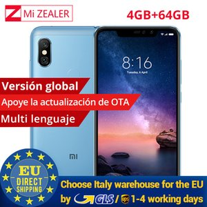 "Global version Xiaomi Redmi Note 6 Pro 4GB 64GB Snapdragon 636 Octa Core 4000mAh 6.26"" 19:9 Full Screen 12MP+5MP Dual Camera on Sale"