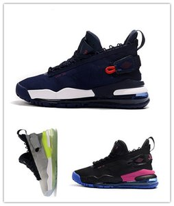 Wholesale A Ma Maniere x Proto Purple Royal Neon Green to Blue gradient sole Men Outdoor Shoes Jumpman Black Mens Designer Trainer