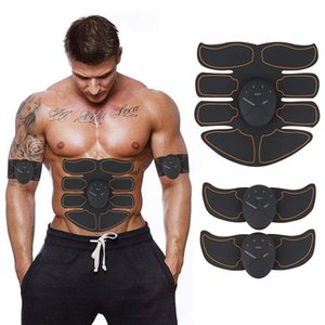 Wholesale ABS Stimulator Abdominal EMS Muscle Trainer Body Toning Fitness Toning Belt ABS Fit Weight Muscle Toner Workout Machine for Men Women