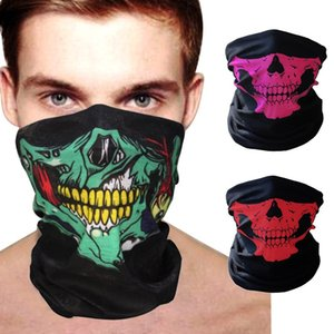 New Fashion Balaclava Beanies Motorcycle Ghost Skull Face Mask Funny Sports Warm Ski Caps Bicyle Bike Beanie Scarf