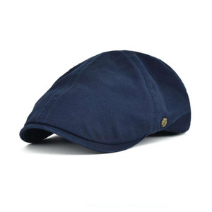 Wholesale VOBOOM Cotton Newsboy Cap Men Women Ivy Flat Caps Spring Summer Berets Gatsby Hats Driver Cooker Retro Male Female Boina