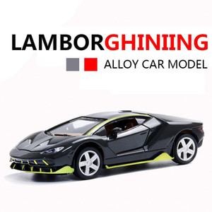 2019 New Lamborghinising Car Alloy Sports Car Model Diecast Sound Light Super Racing Lifting Tail Hot Car Wheel For Children
