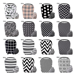 Wholesale Nursing Cover Breastfeeding Cover Baby Car Seat Multi Use for Baby Car Seat Covers Canopy Shopping Cart Stroller Cover LJJK1868