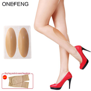 ONEFENG silicone leg onlays body beauty soft pad correction of leg type conceal weaknesses factory direct selling
