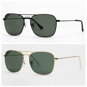 mens sunglasses square designed women sunglasses with real UV400 glasses made lenses des lunettes de soleil free original leather case, box!