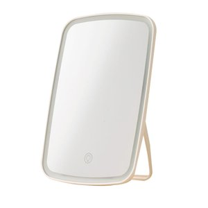 Wholesale mirrors for makeup resale online - For Xiaomi Intelligent portable makeup mirror desktop folding mirror with led lighting lamp dormitory for women men makeup tool SH190925