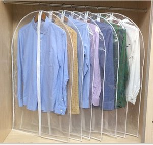 Wholesale Clothing Clear Dust Covers Home Storage Protect Cover Travel Bag For Garment Suit Dress Clothes Coat Display