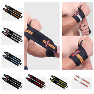 Wholesale Gym Hand Wraps Wrist Strap Weight Lifting Wrist Wraps Gloves Crossfit Dumbbell Powerlifting Wrist Support Sport Wristband Bracers ZZA937