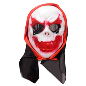 Hot Sale Scary Halloween Mask Adult Full Head Face Party Masks Latex Skull Mask Fancy Dress Party Cosplay Theater Toy Y