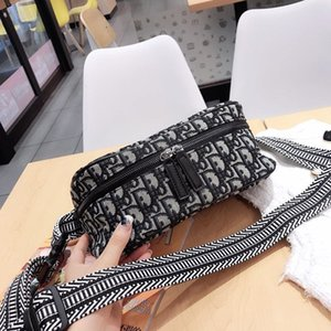 Wholesale Women Shoulder Waist bag Ipad Mini Cowhide waist pack bag money belt waist pouch Men Bag