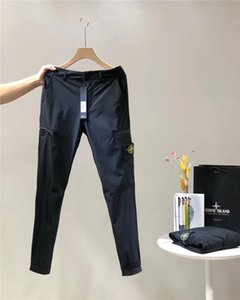Wholesale 19FW New luxurious Brand design High quality compass black track Trousers Men Women fashion sport Jogger Sweatpants Outdoor Pants