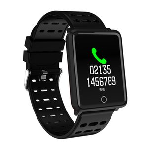 Wholesale Smart Bracelet Big Color screen IP67 Sport Fitness Tracker Blood Pressure Heart Rate Monitor Smart Band for Android Xiaomi Phone