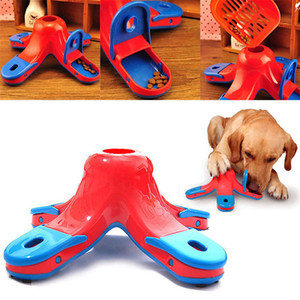 Wholesale 1pcs Funny Dog Puppy Games Training Boredom Treat Pet Puzzle Silicone Feeding Interactive Toys Q190523 Q190523