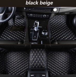 Wholesale Jaguar F Type Coupe car mat luxury surrounded by waterproof leather wear car mat
