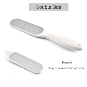 Double Sides Foot Rasp Heel File Hard Head Skin Callus Remover Stainless Steel instruments for Pedicure Feet Care Tool