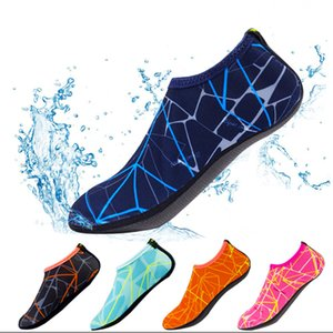 Wholesale Children Unisex Summer Swimming Beach Shoes Flat Soft Breathable Water Shoes Walking Sandalias Elastic Outdoor Sports Shoes DH1133 T03