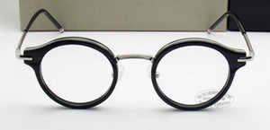 Wholesale Luxury Brand desgin New round frame tb A retro myopia glasses frame Round Men and women with money