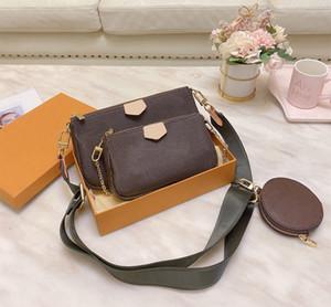 3pcs set Messenger bag Women Wallet Crossbody Shoulder Bag Classic Handbag purse free shipping