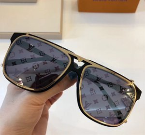 Wholesale New fashion designer sunglasses big square double detachable lens optics and sunglasses series style with case