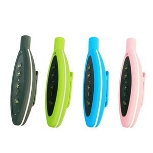 Multicolor Portable IPX8 Waterproof Mini MP3 Player Clip FM Support Win XP iOS Outdoor Sport Music Player