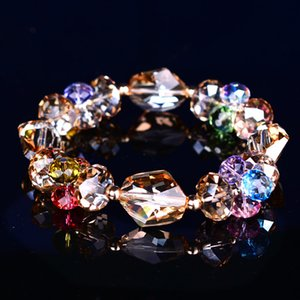 Wholesale Colorful atmospheric Austrian crystal bracelet bracelet