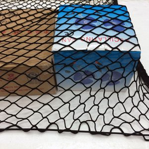Universal car trunk roof luggage net pocket debris isolation resuable high quality storage car net pocket 70*70cm