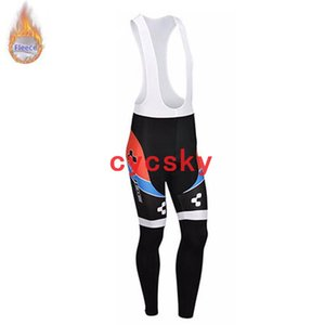 Wholesale CUBE 2019 NEW pro team Cycling Winter Thermal Fleece Cycling winter thermal Fleece bib pants Cycling Clothing Maillot Ropa Ciclismo