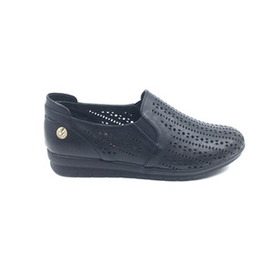 pianoluce Pianolu by Genuine Leather Women Shoes Black PLA46-511 on Sale