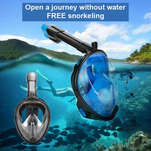 SMACO New S L Diving Mask Scuba Mask Underwater Anti Fog Full Face Snorkeling Women Men Swimming Snorkel Diving Equipment