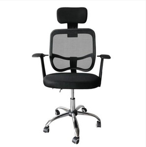 Hot sales!!! Wholesales free shipping Mesh Back Gas Lift Back Tilt Adjustable Office Swivel Chair +Headrest +Armrests