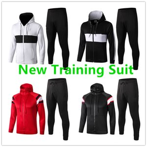Wholesale Soccer Football Tracksuit Jacket Uniform Team Kit Top Quality New Soccer Training Tracksuit Soccer Wear