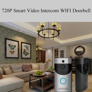 Wholesale B30 WiFi Intercom Video Doorbell Infrared Night Vision PIR Protection Smart Home Security Camera Monitor Smart Intercom System