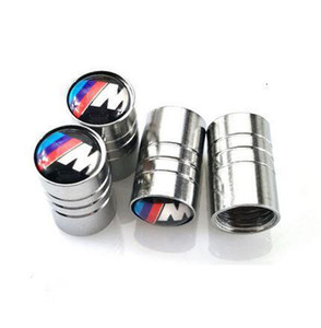 4pcs set Car Tire Valve Caps Wheel Tyre Air Stems Covers Car Badges Emblems for Benz Volvo BMW and other Cars