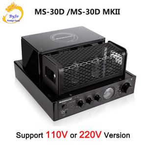 Nobsound MS-30D and MS-30D MKII 2.1 channel hifi bluetooth tube Amplifier 25W+25W 110V 220V Support Usb Power amplifier MS-10D MKII upgrade