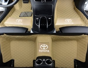 Wholesale Applicable to Toyota Highlander Seven-seat 2015-2018 car interior point non-toxic non-slip mat